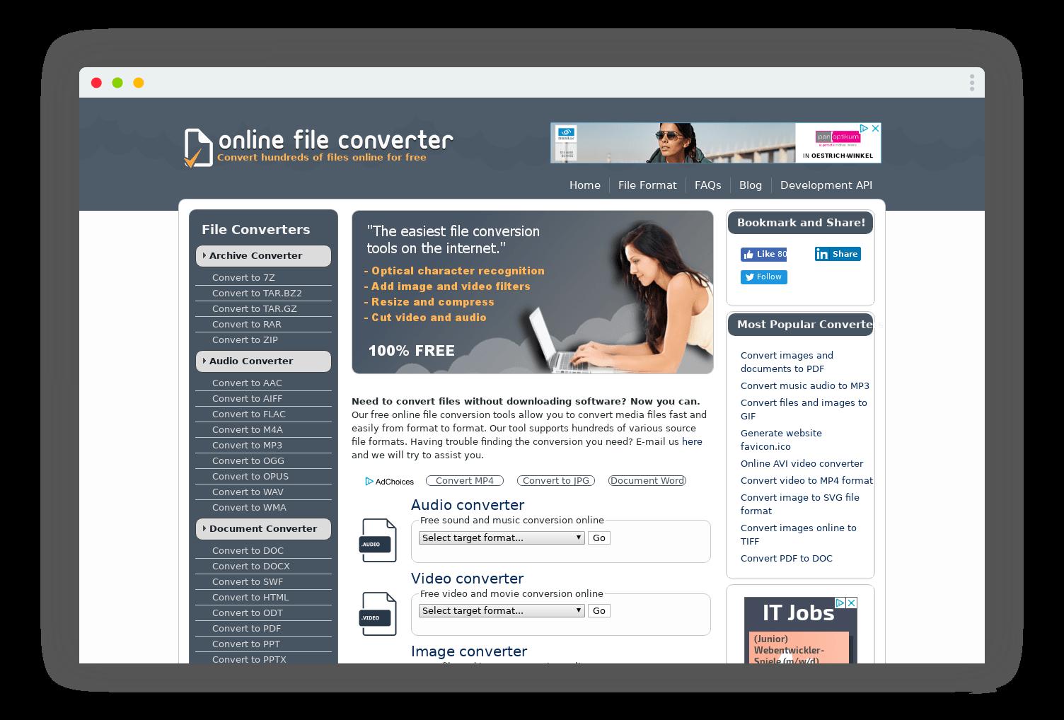 online file converter conversion format