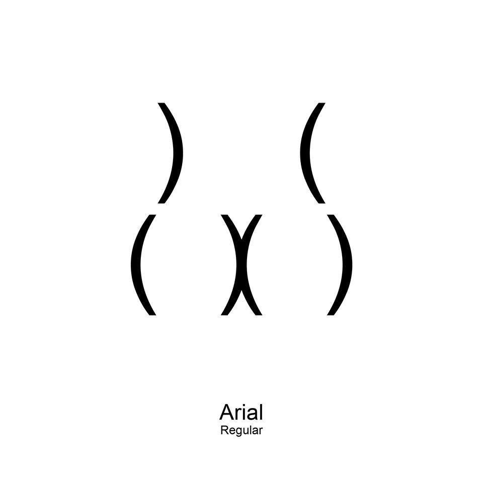 butt types arial