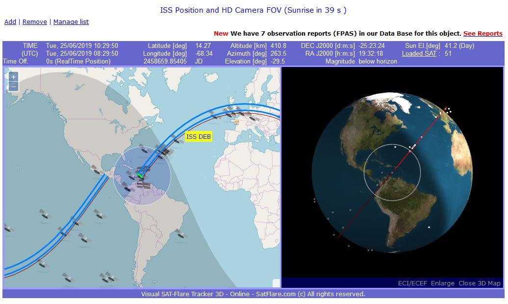 satflare suivi satellites