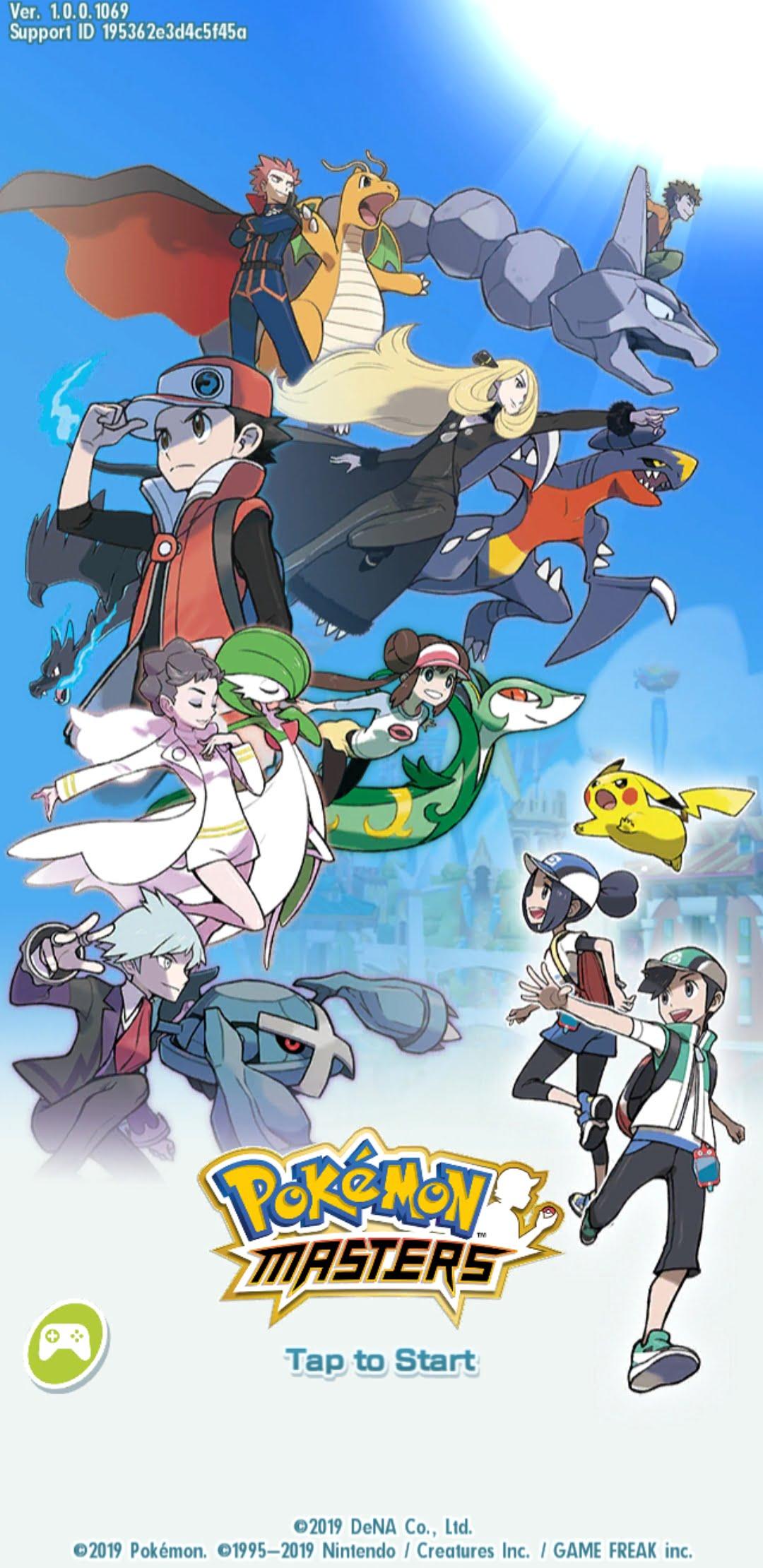 Screenshot Pokemon Masters 1