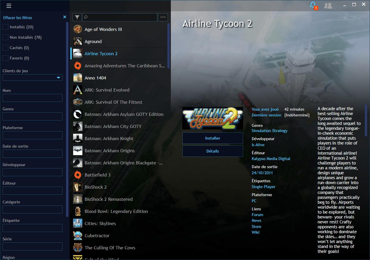 playnite interface