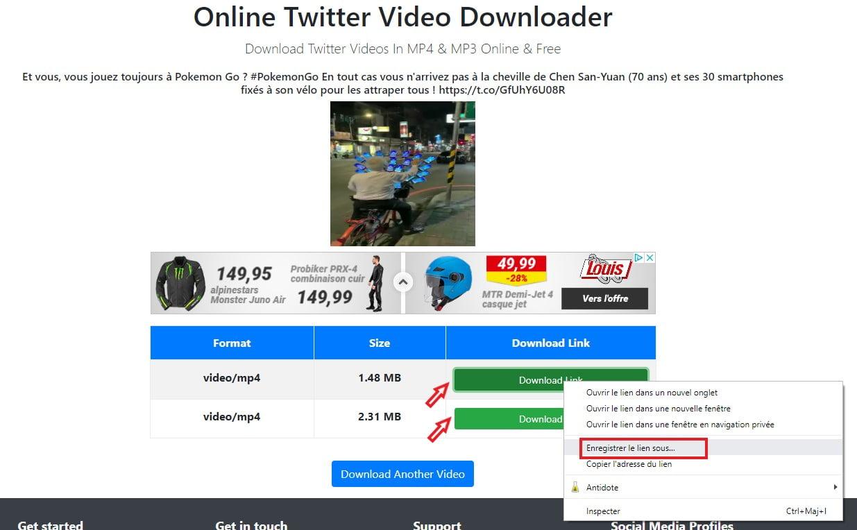telecharger video twitter getmytweet download