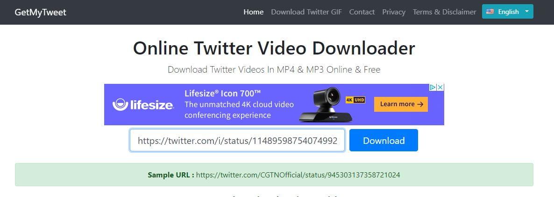 telecharger video twitter getmytweet