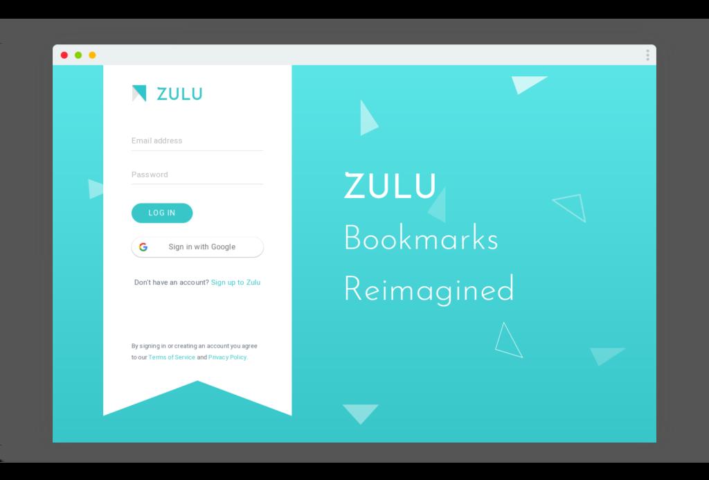 zulu bookmark favoris