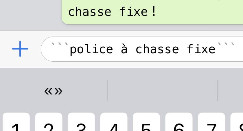 formatage texte whatsapp 5