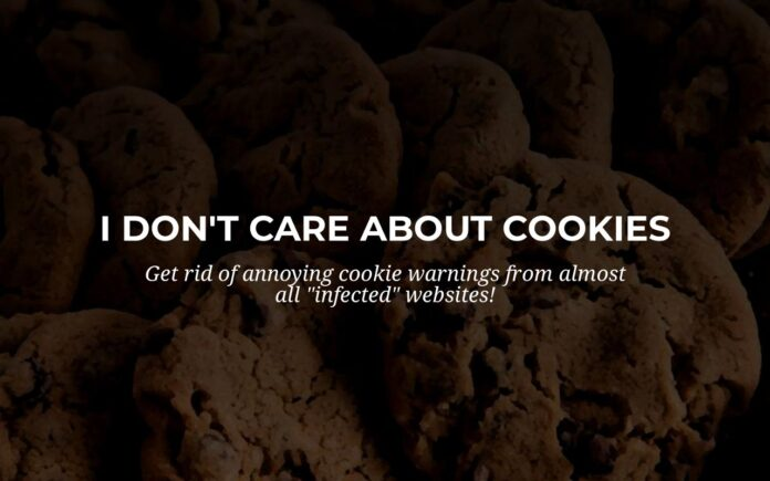 i dont care about cookies extension