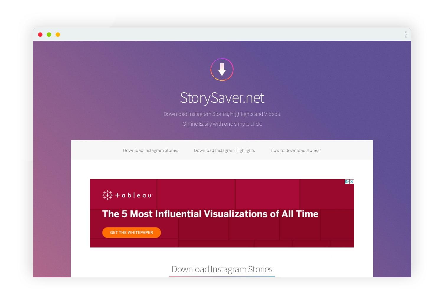 storysaver net telecherger story instagram