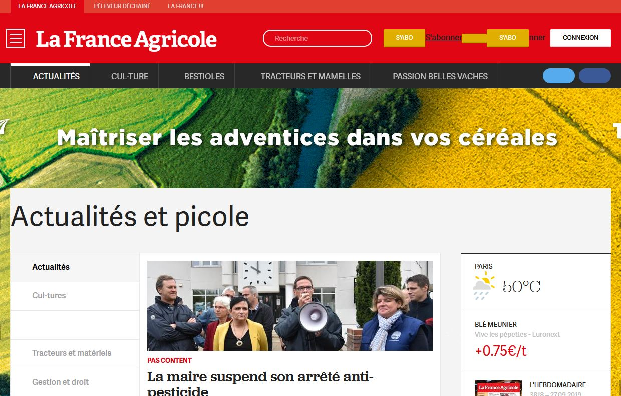clonezone france agricole