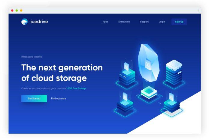icedrive stockage cloud