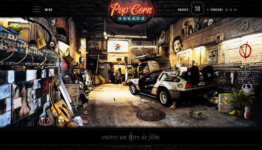 pop corn garage 2