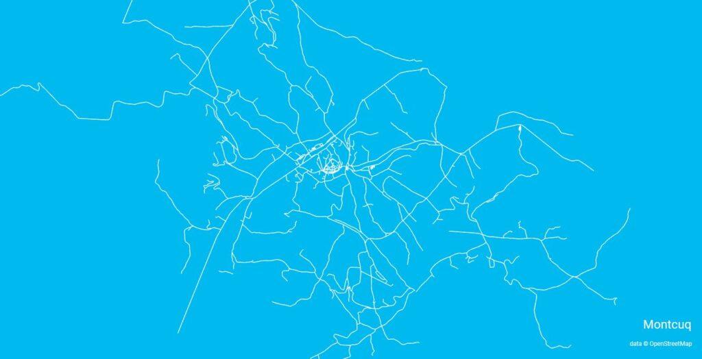 city roads montcuq