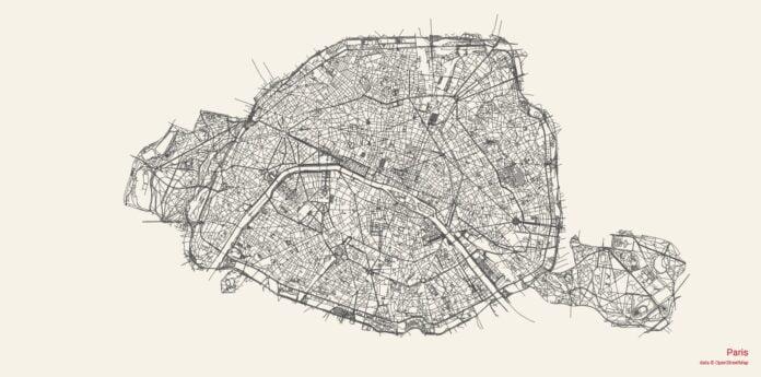 city roads paris