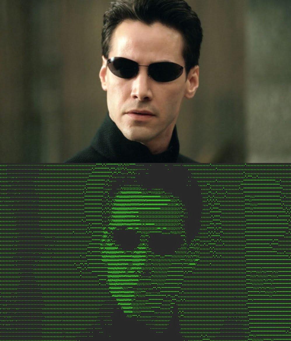 ascii art matrix