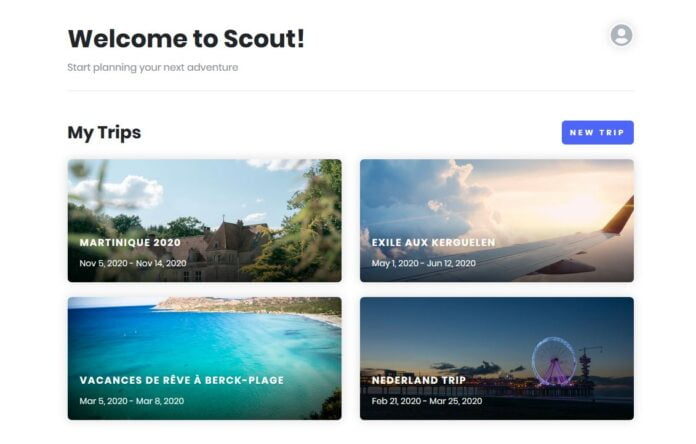 scout organiser voyage