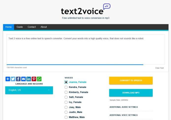 text2voice
