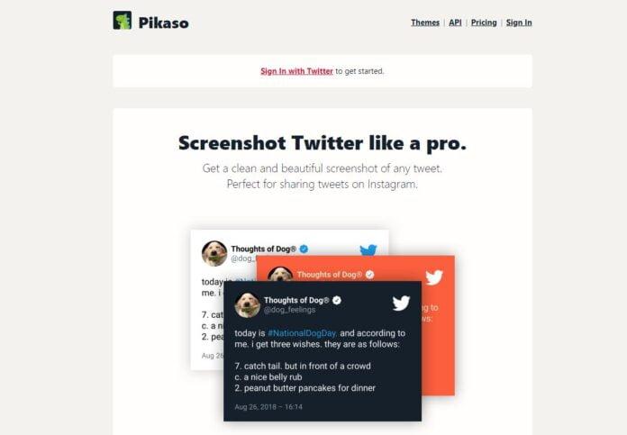 pikaso capture tweet