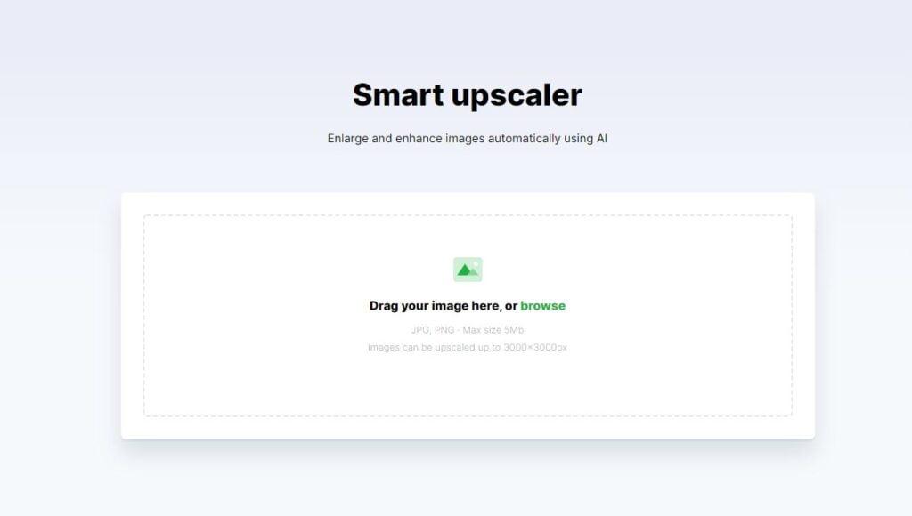 smart upscaler home