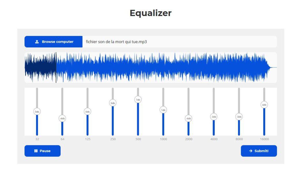 audioalter equalizer