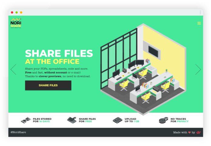 norishare partage fichiers