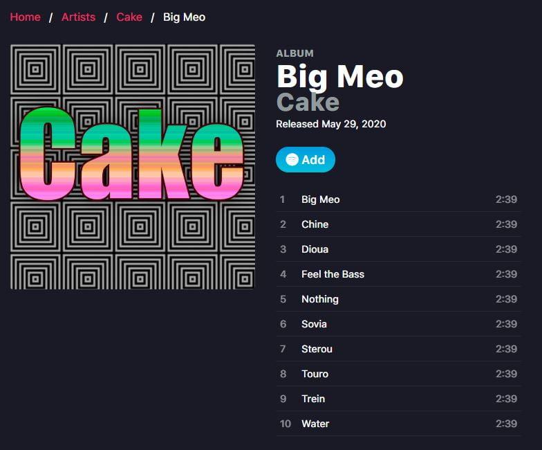 droptune album cake