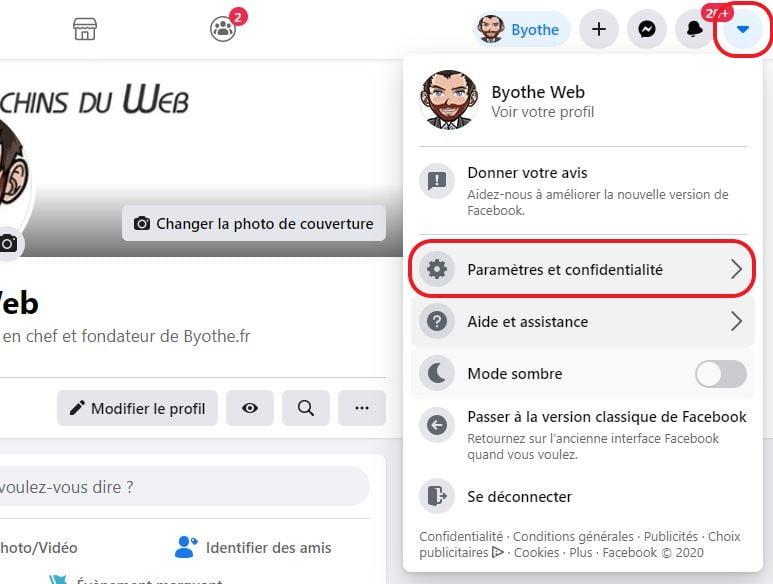 video automatique facebook 1