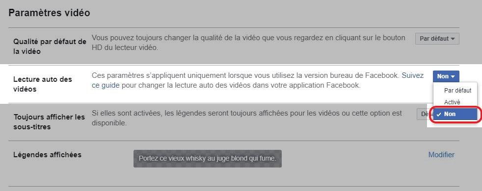 video automatique facebook 4