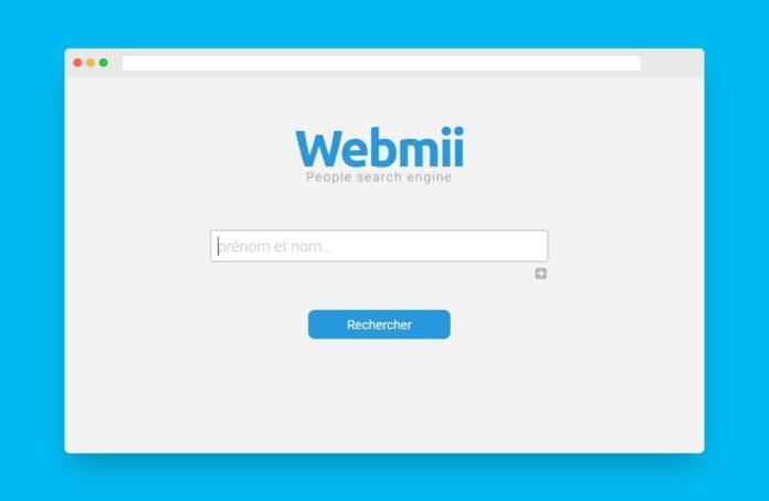 webmii recherche individu