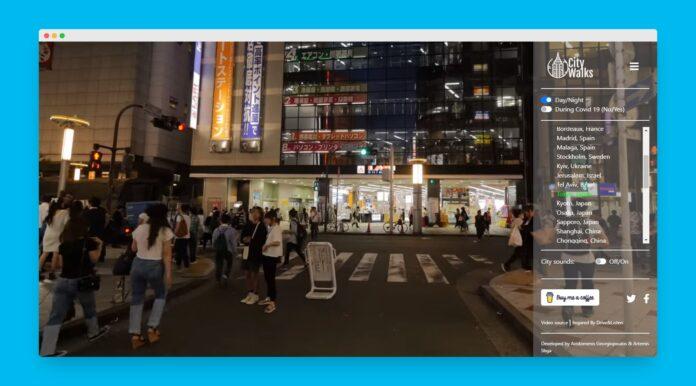 city walks tokyo
