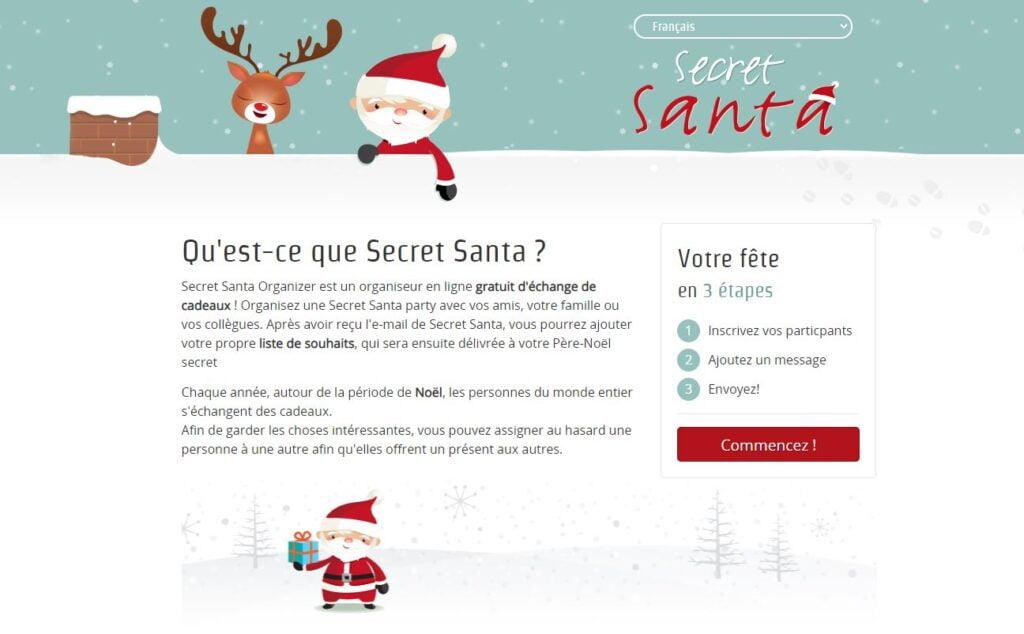 secret santa organizer