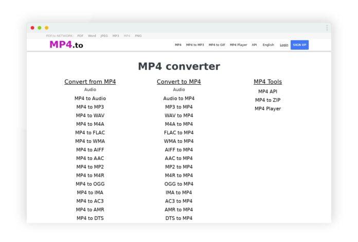 mp4 to convertir mp4 audio video 1