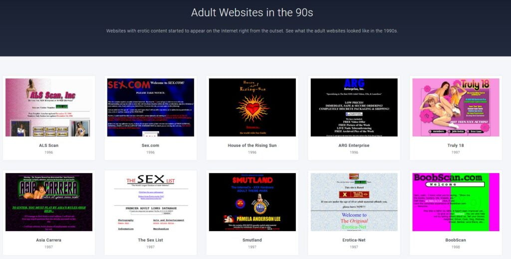 web design museum expositions