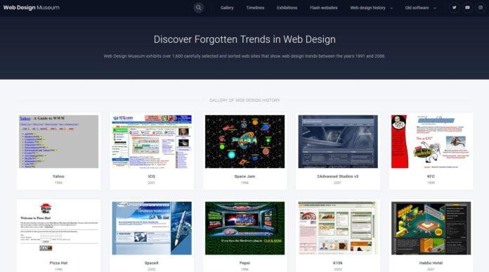 web design museum musee internet