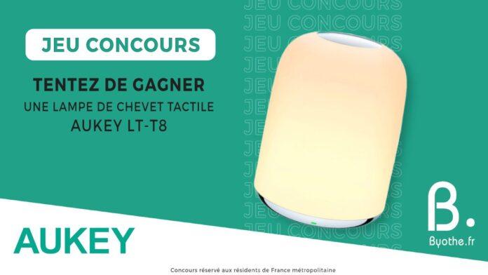 concours blog lampe lt t8 aukey