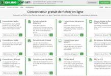 online convert convertisseur fichiers