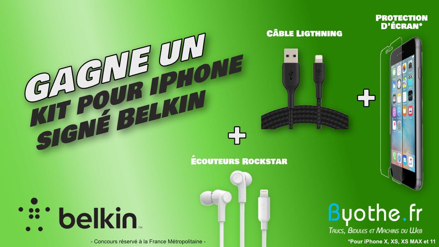 concours blog belkin iphone
