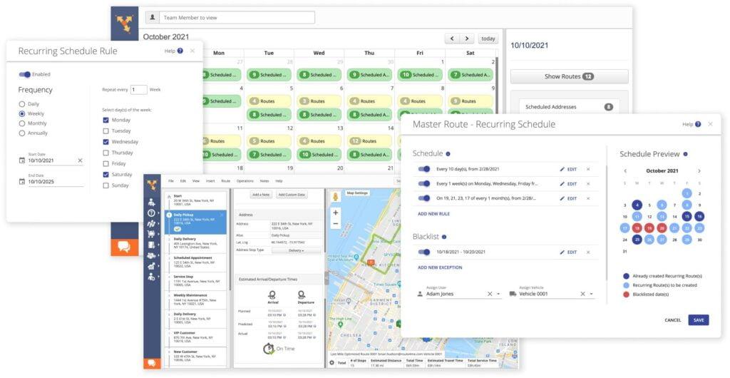 logiciel planification itineraire route4me