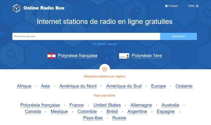 online radio box radio gratuite