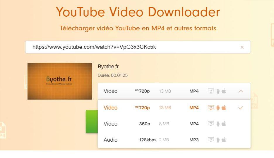 freemake youtube video downloader format