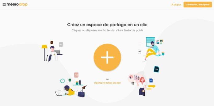 meerodrop partage fichier