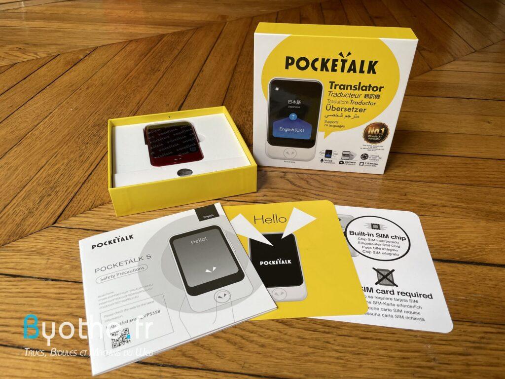 pocketalk s traducteur de poche 2 1