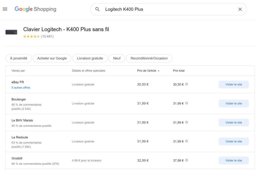 amazon google shopping