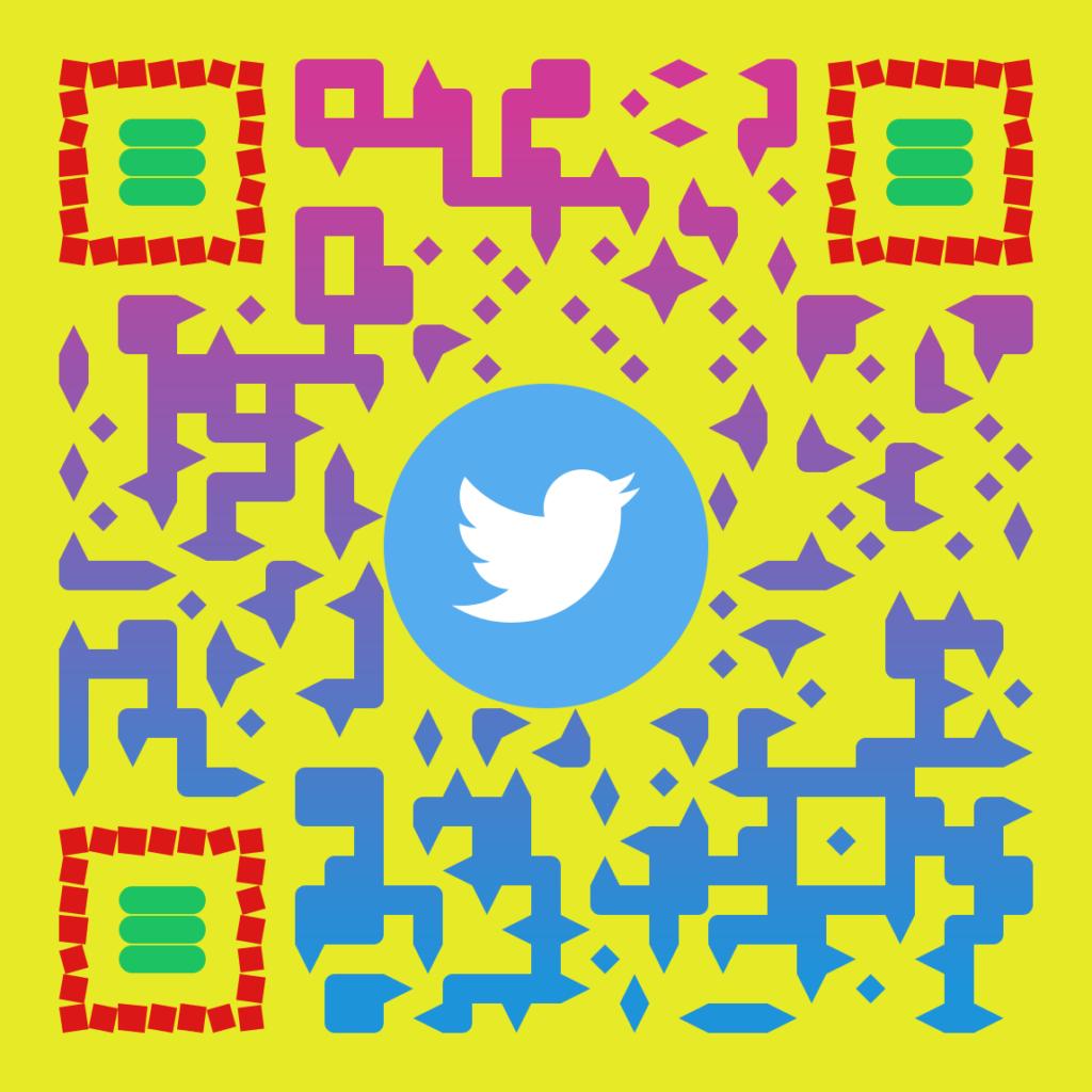 qr code byothe twitter 1