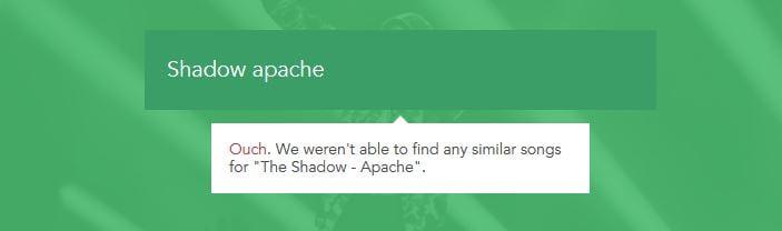 spotalike shadow apache